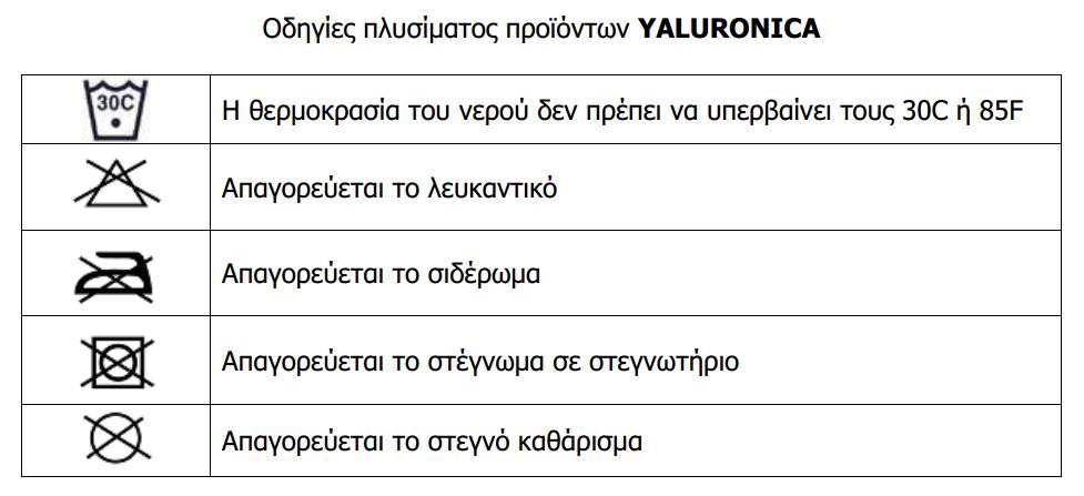 Care Label yaluronica